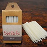 B-Day - 24 Pure Beeswax Birthday Candles, Natural Ivory