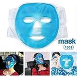 SILUN フェイスマスク 冷温兼用 美容用 再利用可能 毛細血管収縮 肌ケア 保湿 吸収しやすい 美容マッサージ アイスマスク