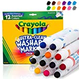 Crayola Ultra-Clean Washable Markers, 12ct