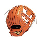 MIZUNO(ミズノ) 野球 グラブ グローブ 少年軟式用 ワイルドキッズ オールラウンド用 1AJGY152 51:クリアオレンジ サイズ:5S