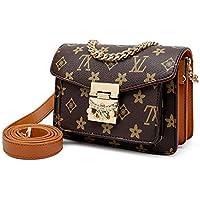 Women's Handbag Shoulder Bag Crossbody Letter print square PU women's bag