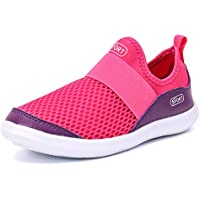 POOLOOP Toddler Little Kids Shoes Slip On Lightweight Sneakers for Boys Cute Girls Walking