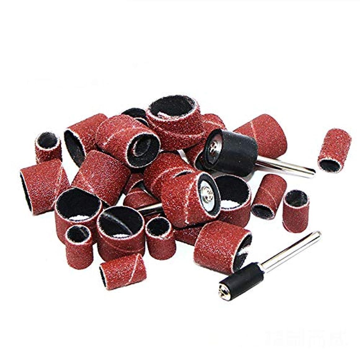 紀元前急いで電話をかけるネイル研削ドリル マニキュア 研削ヘッド セラミック研削ヘッド 研削サンディングヘッド 104個 女の子ネイルケア