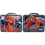 Spider-Man Tin Box Carry All スパイダーマンティンボックスすべてのキャリー?ハロウィン?クリスマス?