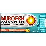 Nurofen Cold & Flu PE Tablets Pain Relief (Count of 12)