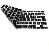 Zaggass. MacBook Air/Pro日本語キーボードカバーオリジナルクロス付き MacBook Air 13/Pro Retina 13,15インチ用 黒