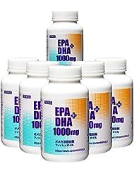 【まとめ買い】そら EPA+DHA 1000mg (魚のオイル オメガ3) 【180粒入 × 6本セット】[10% OFF]