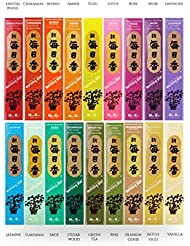 iTakara - 日本コド朝の星 インセンス アルティメットコレクション | 18 フレグランス X 50