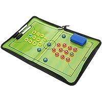 サッカーボード 作戦盤 コーチングボード フットサル マグネット 折りたたみ式 戦略指導 消しゴムと専用ペン付き