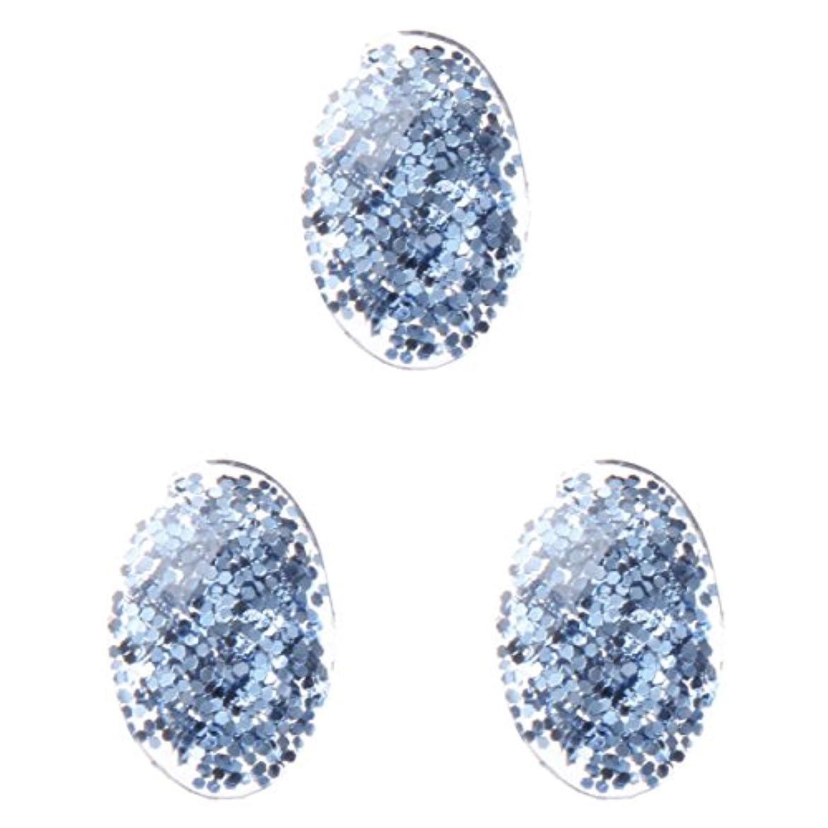 切断する矢じり南東<エトゥベラ>ファンタジーストーン オーバル3×5mm(各30個) ブルー(3x5mm)