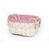 籐製の収納用バスケット布製の収納ボックス