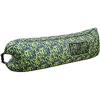 SAKEY エアーソファー エアーマット エアーベッド ポケット 収納袋付き アウトドア 海 プール 室内休憩 収納簡単 組み立て簡単 持ち運び便利