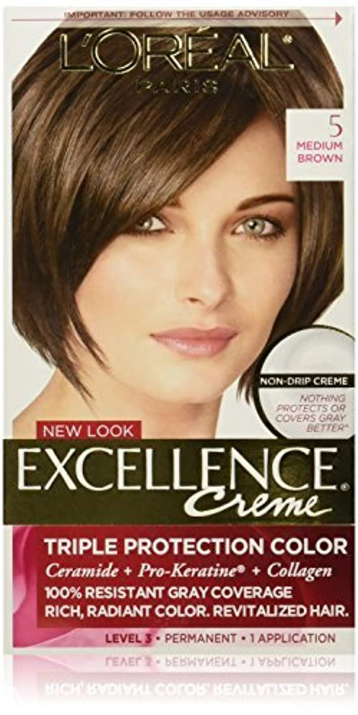 アルプスバリアこれまでExcellence Medium Brown by L'Oreal Paris Hair Color [並行輸入品]