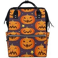 ママバッグ マザーズバッグ リュックサック ハンドバッグ 旅行用 ハロウィン パンプキン ファション