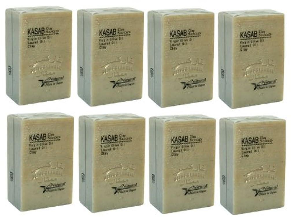 確率石膏シアーカサブクレイ石鹸8個セット
