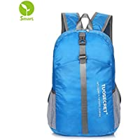 Flash Sale! TOUSECRET Ultra Lightweight Packable Durable Water Resistant Travel Hiking Daypack Handy Foldable Camping Outdoor Backpack