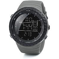 笑え熊 腕時計 スタンダード クオーツ BF-779 スポーツスタイル アウトドア 日常防水 デジタル 多機能 夜光 日付表示 ストップウォッチ LED アラーム