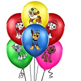 """35PCS PAW Dog Patrol Balloons Party Supplies 12"""" Latex Balloon for Dog Theme Birthday Party Decorations, Birthday Backdrop"""
