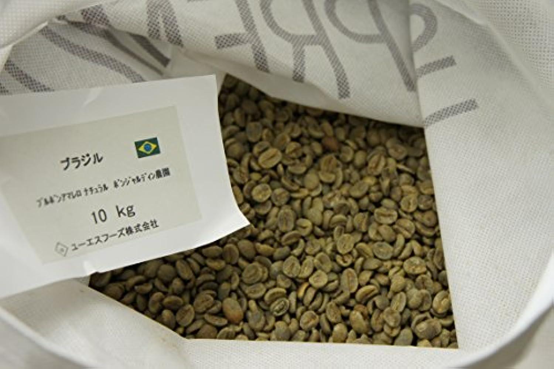 ブラジル ブルボンアマレロ ボンジャルディン農園【USプレミアム】コーヒー生豆 グラム販売 (600g)