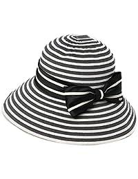 HAIPENG 日よけ帽 日除け帽 キャップ女性 ワイドブライメッドハット 夏 韓国語版 抗UV サンシェード 防風 折りたたみ可能 通気性のある 使用可能な4色 ( 色 : ブラック )