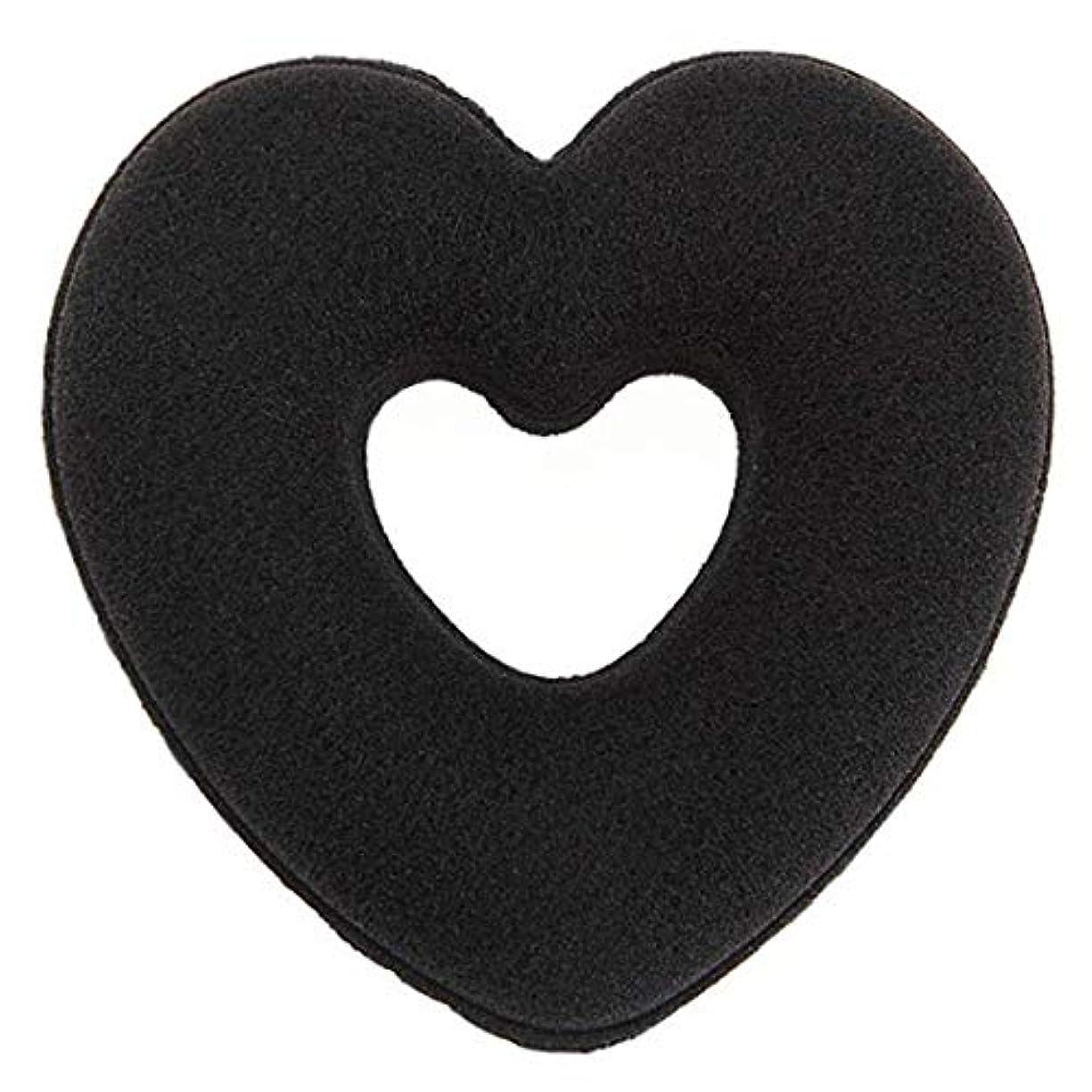 不愉快エコー管理しますSwiftgood 女性ヘアスタイリングアクセサリーハートドーナツバンラップヘアリングバドクリップセットヘアアップデータメーカーヘアバドクリップ