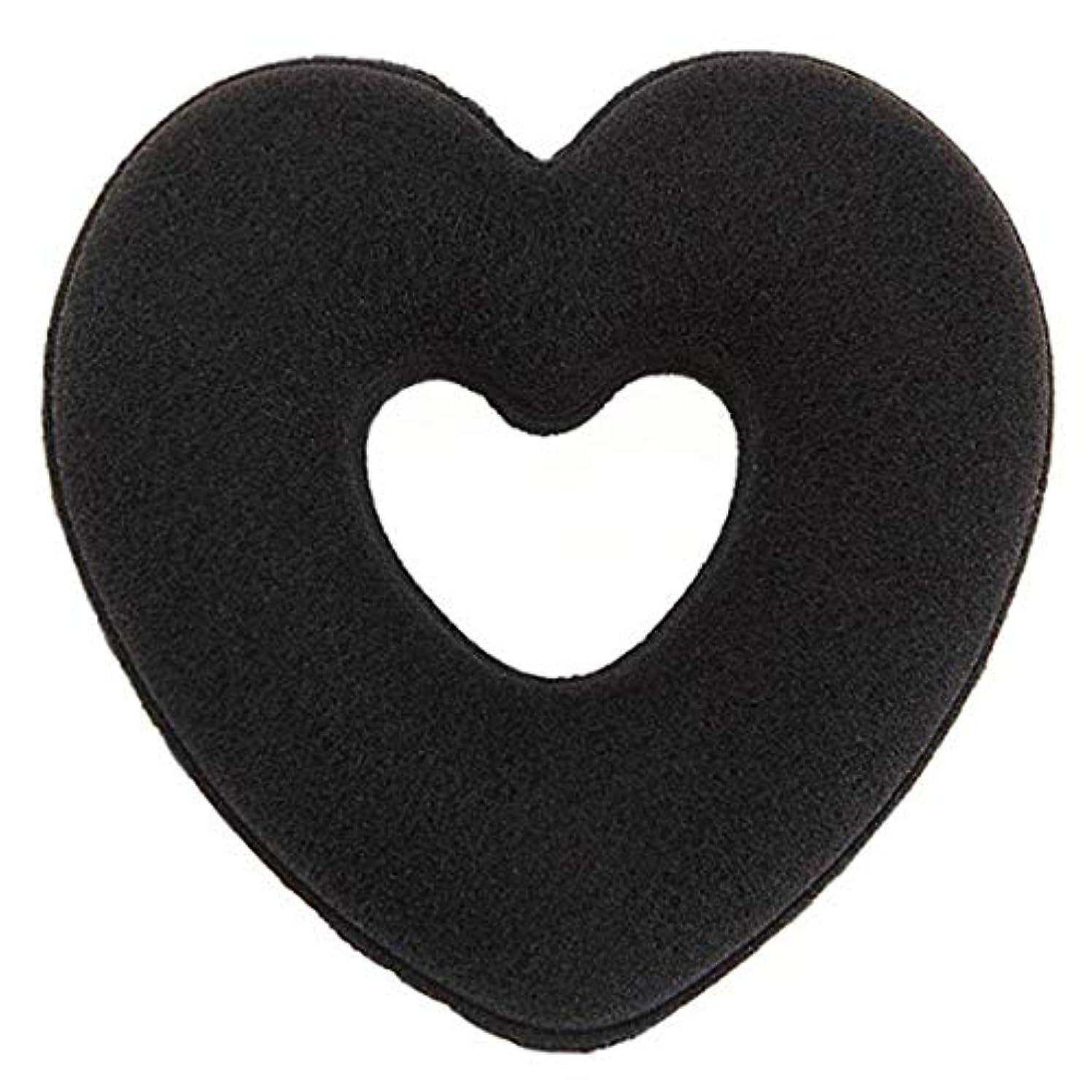 いつジョージバーナードあらゆる種類のSwiftgood 女性ヘアスタイリングアクセサリーハートドーナツバンラップヘアリングバドクリップセットヘアアップデータメーカーヘアバドクリップ