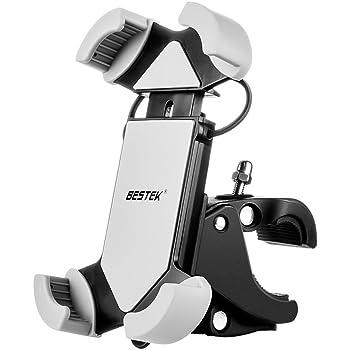 BESTEK 自転車ホルダー スマートフォン用ホルダー 保護バンド付き iPhone6s plus まで対応可能 BTBM01N