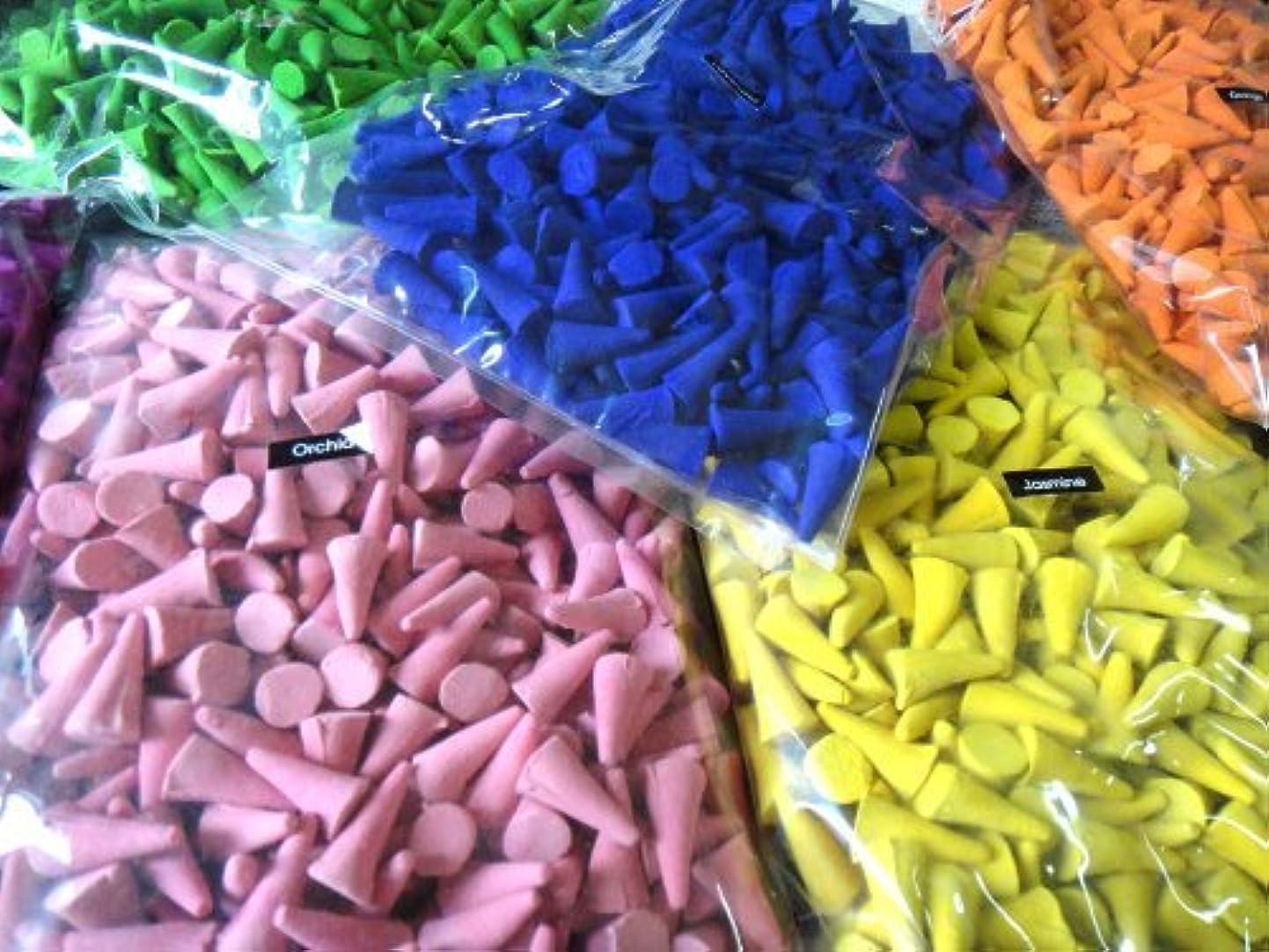 ひねくれた詐欺師責Incense Conesミックスのさまざまな香り(パックof 100 Cones ) ThaiEnjoy製品