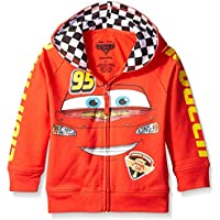 Disney Boys Cars '95 Hoodie Hooded Sweatshirt - red