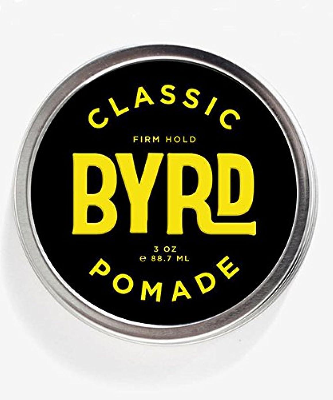 ホイットニー興奮するスタンドBYRD(バード) クラシックポマード 85g