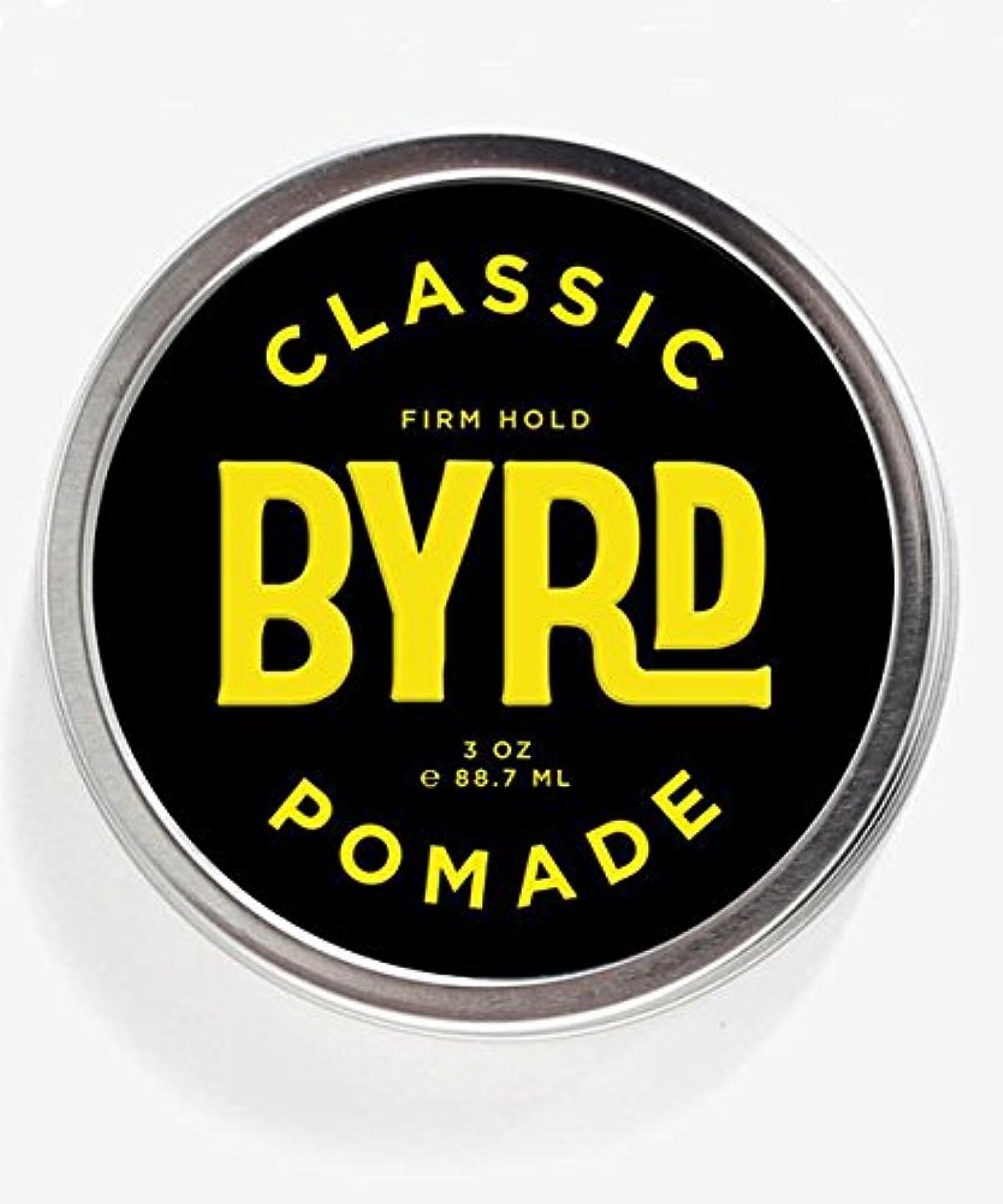 放棄された過度の抵抗するBYRD(バード) クラシックポマード 85g