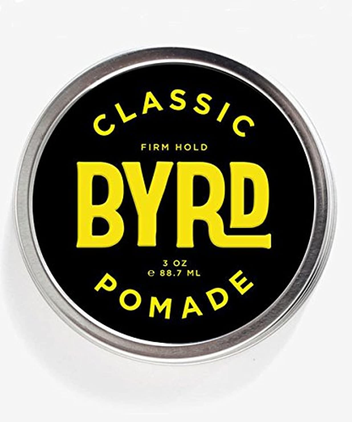 二度すべき潤滑するBYRD(バード) クラシックポマード 85g