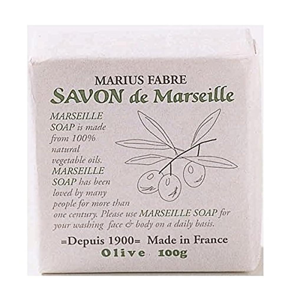 月曜ドール静めるサボンドマルセイユ 無香料 オリーブ石鹸 100g 6個セット マリウスファーブル