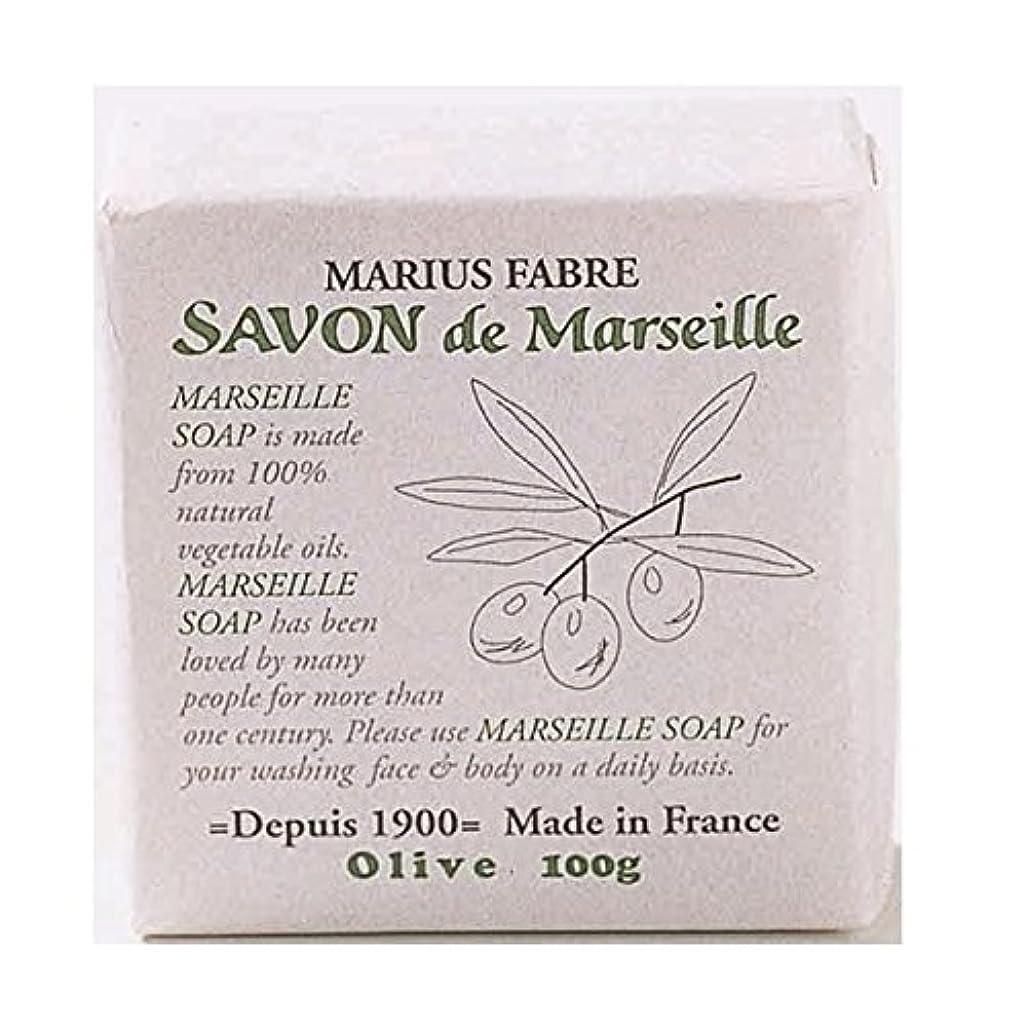 注入スプリット簡単なサボンドマルセイユ 無香料 オリーブ石鹸 100g 6個セット マリウスファーブル
