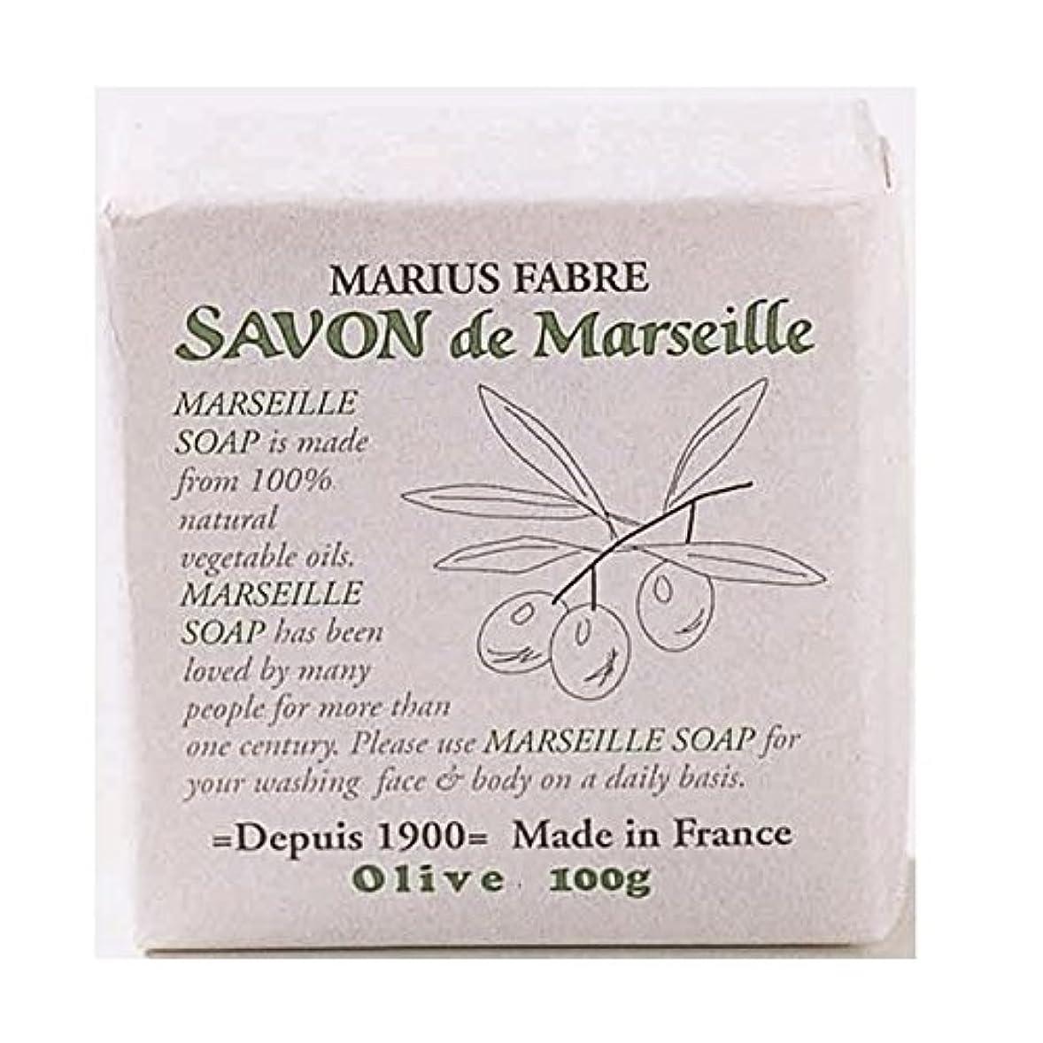 翻訳スペアラバサボンドマルセイユ 無香料 オリーブ石鹸 100g 6個セット マリウスファーブル