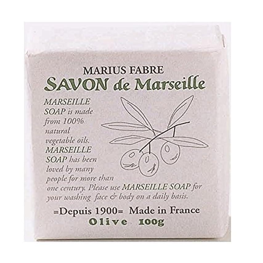 可愛い織る石のサボンドマルセイユ 無香料 オリーブ石鹸 100g 6個セット マリウスファーブル