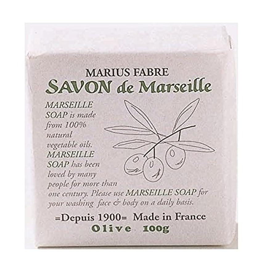 引き算粒子ラジエーターサボンドマルセイユ 無香料 オリーブ石鹸 100g 6個セット マリウスファーブル