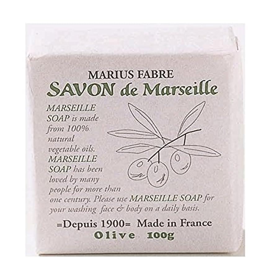 週間王女偶然のサボンドマルセイユ 無香料 オリーブ石鹸 100g 6個セット マリウスファーブル