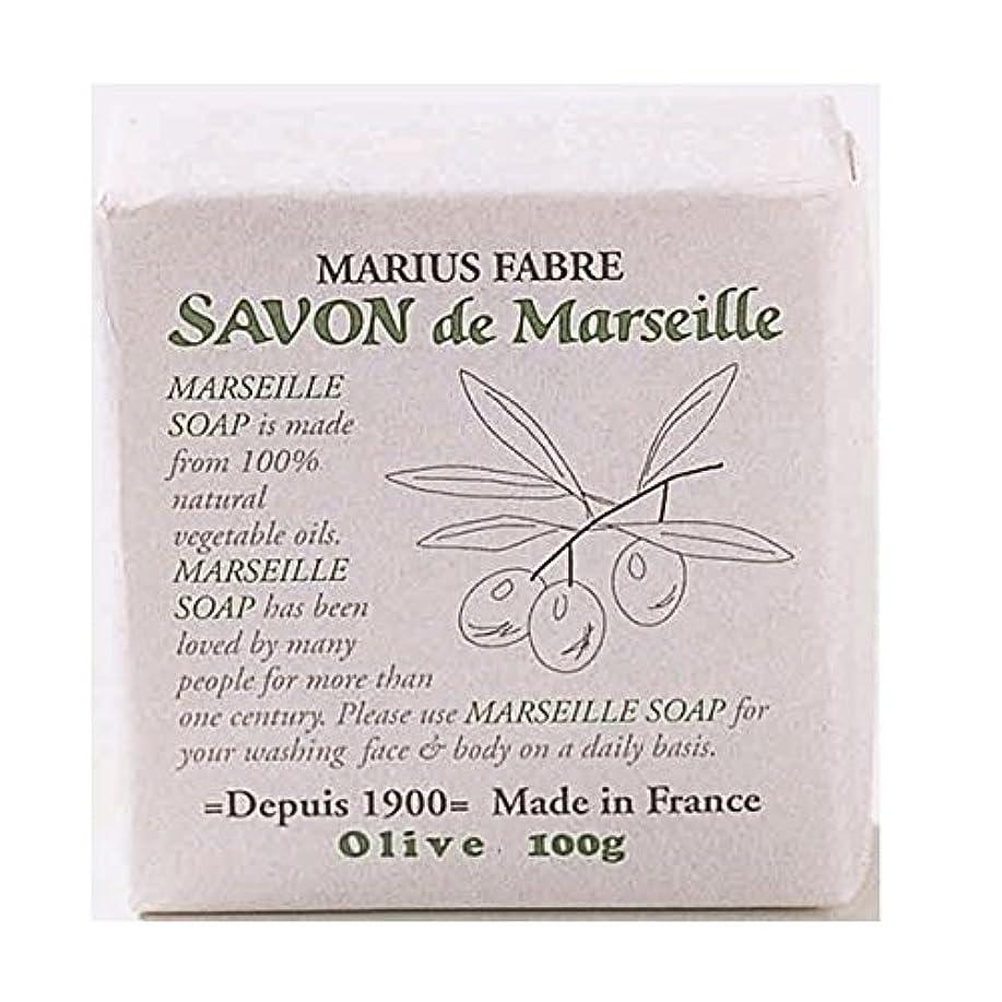 予防接種する人差し指キュービックサボンドマルセイユ 無香料 オリーブ石鹸 100g 6個セット マリウスファーブル