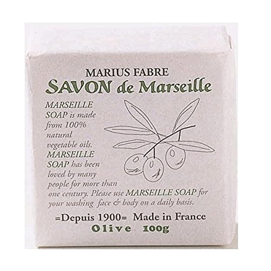 粘性のみぞれエロチックサボンドマルセイユ 無香料 オリーブ石鹸 100g 6個セット マリウスファーブル