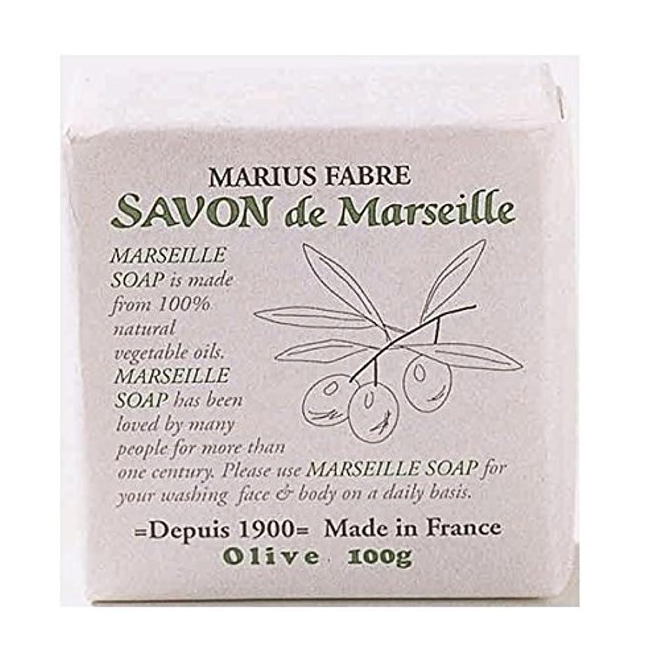 ポケット苦しみ大破サボンドマルセイユ 無香料 オリーブ石鹸 100g 6個セット マリウスファーブル