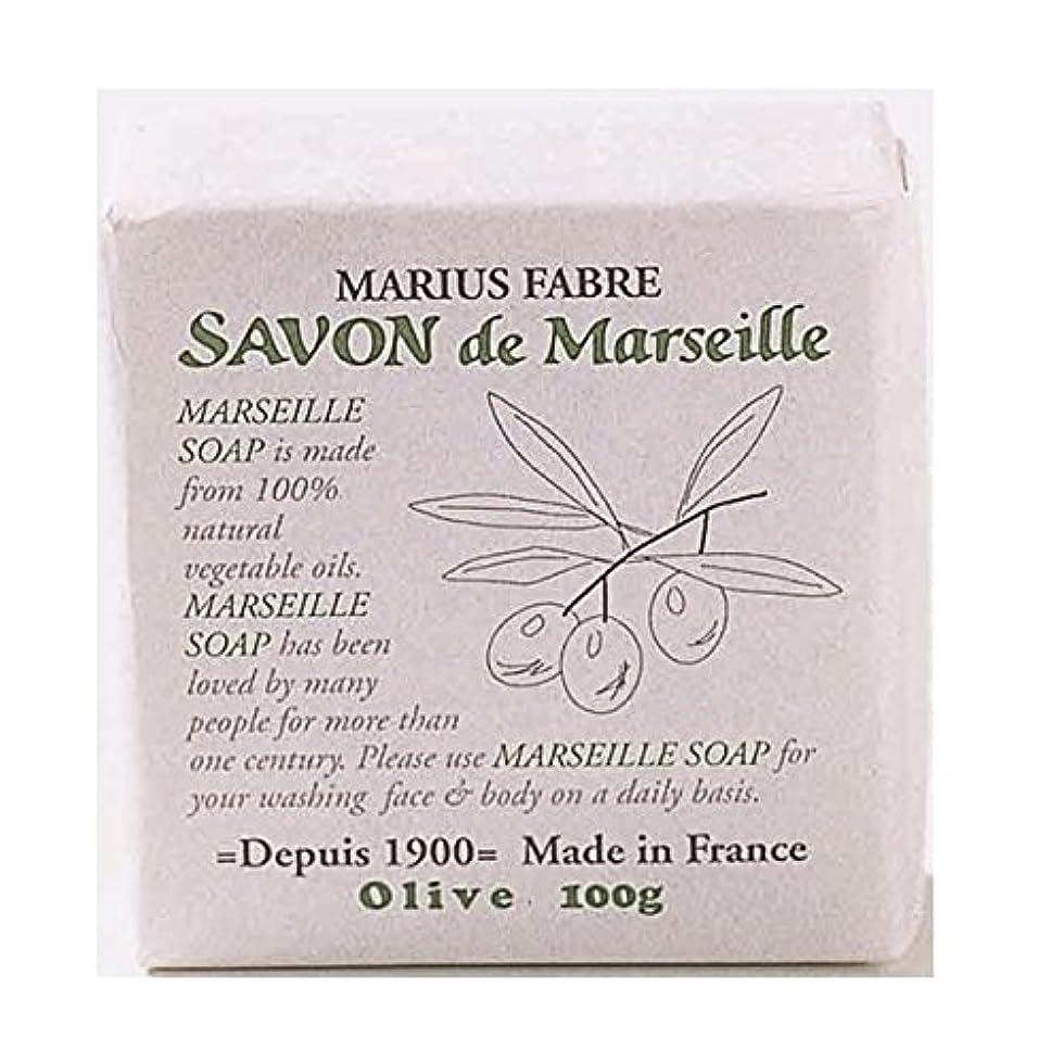 モネ社会ぐるぐるサボンドマルセイユ 無香料 オリーブ石鹸 100g 6個セット マリウスファーブル