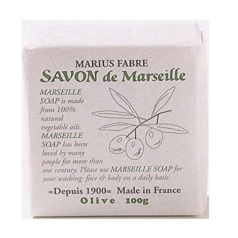 空白旅行代理店始まりサボンドマルセイユ 無香料 オリーブ石鹸 100g 6個セット マリウスファーブル