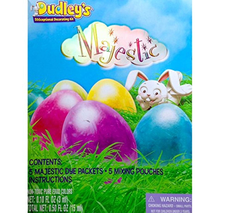 Dudleys Eggceptional DecoratingキットマジェスティックEgg Dyeキットイースター2015