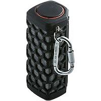 hapyiaアウトドアBluetoothワイヤレススピーカーポータブル防水、ペア2スピーカー3dステレオサラウンドサウンド – 1つのスピーカー ブラック S777_DB_BK