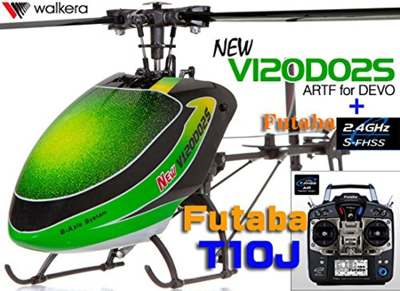 ワルケラ WALKERA NEW V120D02S 6CH (フタバS-FHSS&DEVO仕様) +フタバT10J(S-FHSS方式対応10chプロポセット)