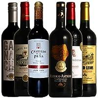 全て金賞受賞 フランス・スペイン飲み比べ コク旨産地より厳選 赤ワイン6本セット 750ml×6