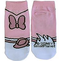 ディズニー キッズソックス デイジーダック子供靴下 コスチューム ピンク?ホワイト 13cm~18cm AWDS2432J