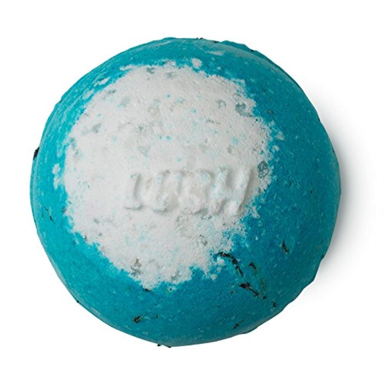 深さ直感写真のLUSH ラッシュ RUSHラッシュ 200g バスボム 浴用 シーソルト 入浴剤 ラベンダーオイル 入浴剤 ギフト