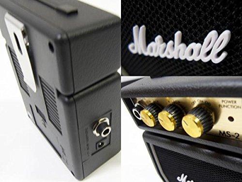 Marshall MS-2【電池駆動 ミニ ギターアンプ 】